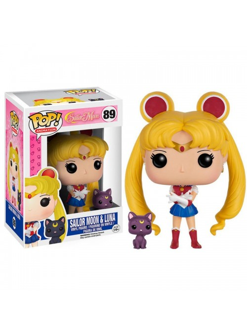 Figura POP Sailor Moon & Luna