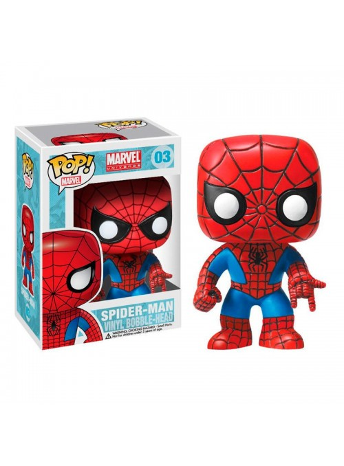 Figura Funko POP Spider-Man - Marvel