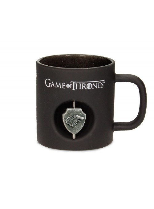 Cup Black Stark with Emblem Rotating - Game of Thrones