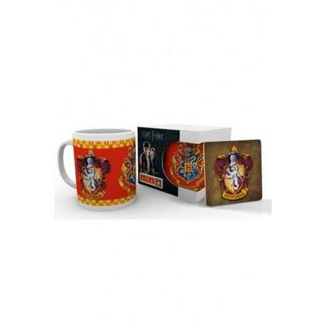 Set Taza y Posavaso Gryffindor - Harry Potter