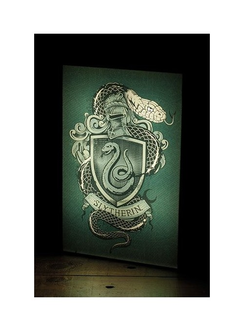 Lámpara Luminart Slytherin 30 cm - Harry Potter