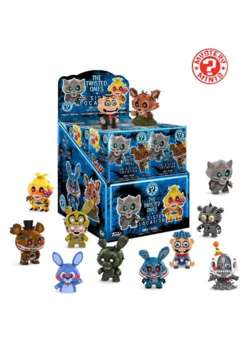 Figura Mystery Minis Five Nights af Freddy's Twisted