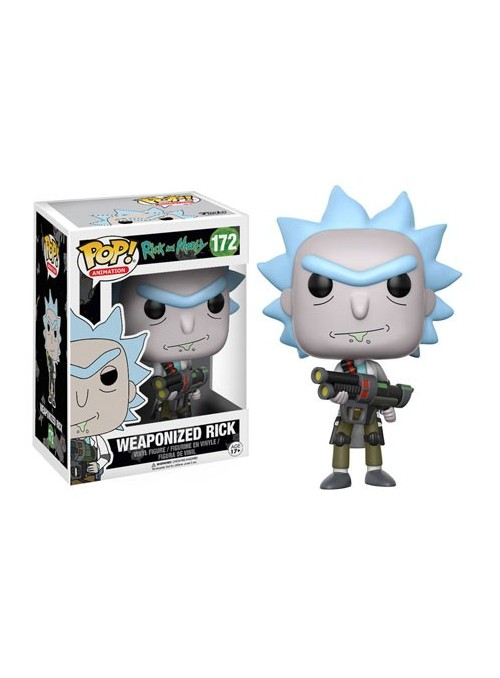 Figura POP Weaponized Rick- Rick and Morty