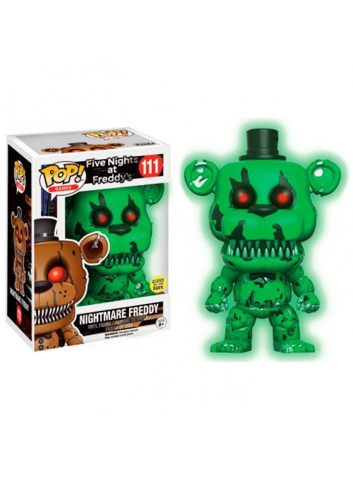 Figura POP Nightmare Freddy Exclusive - Five Nights At Freddy