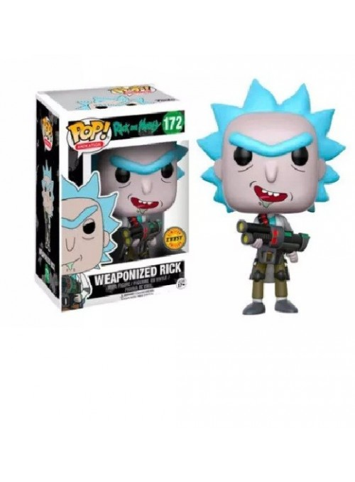 Figura POP Weaponized Rick Chase - Rick and Morty