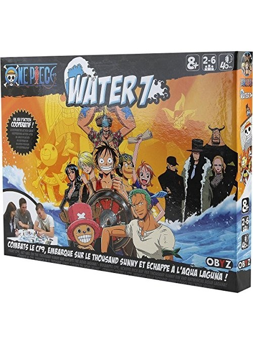 Juego One Piece board game Water 7