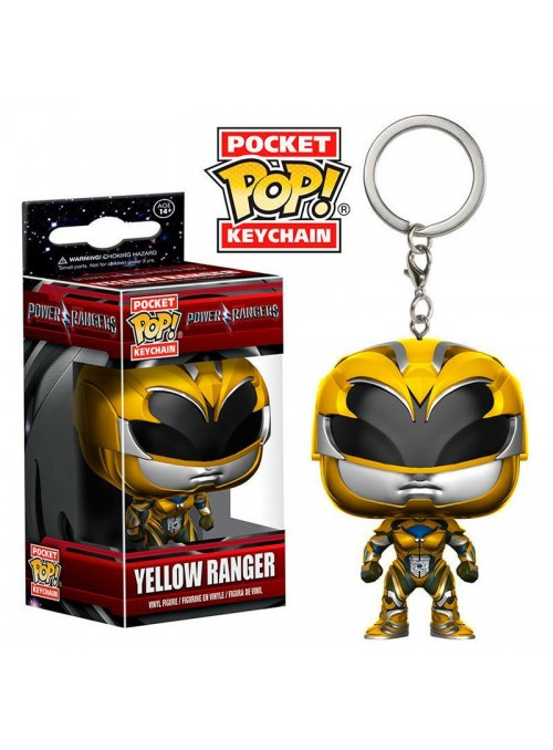 Llavero POP Yellow Ranger - Power Rangers