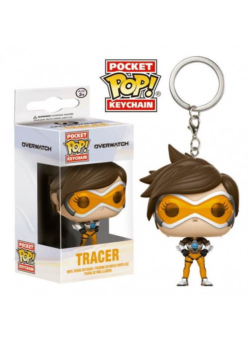 Llavero Pocket POP Tracer - Overwatch