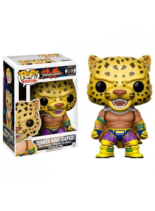 Figura Vinyl POP! Tekken King (Caped) Limited - Tekken