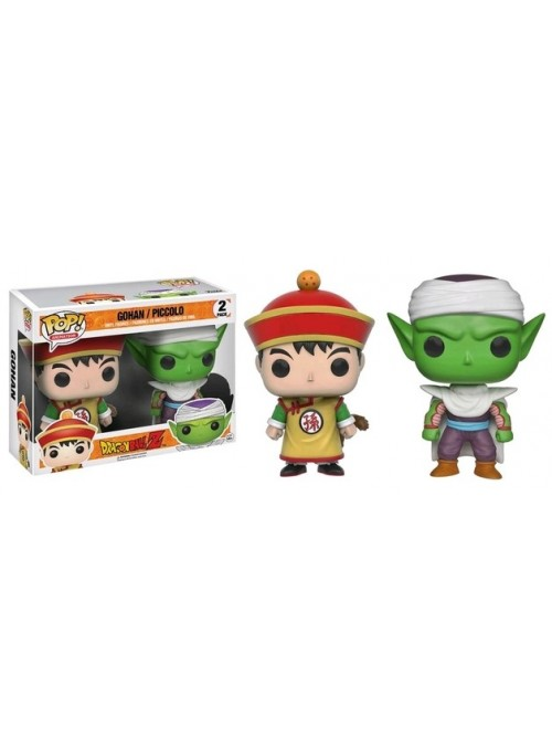 Pack 2 Figuras POP Gohan & Piccolo Exclusive - Dragon Ball