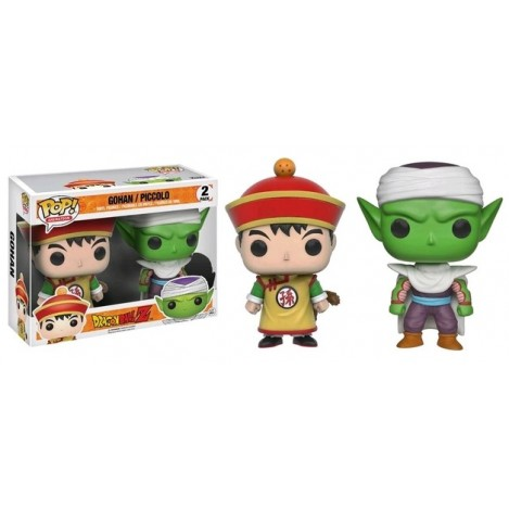 Pack 2 Figuras Funko POP Gohan & Piccolo Exclusive - Dragon Ball
