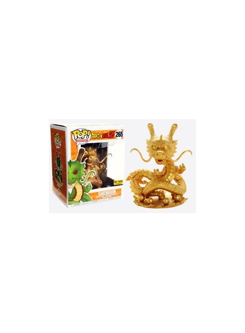 Figura POP Shenron Gold Exclusive 15cm - Dragon Ball