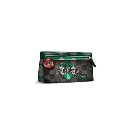 Estuche Plano Quidditch Slytherin - Harry Potter