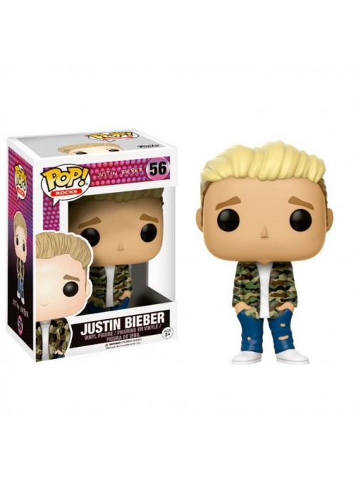 Figure Funko POP Rocks Justin Bieber