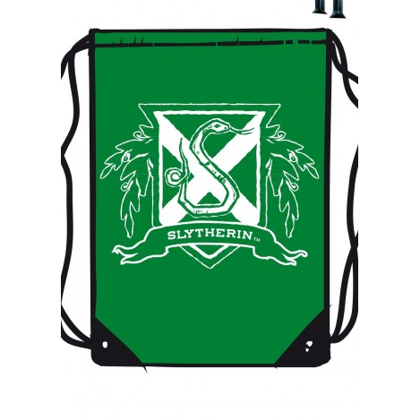 Mochila de tela verde Slytherin - Harry Potter