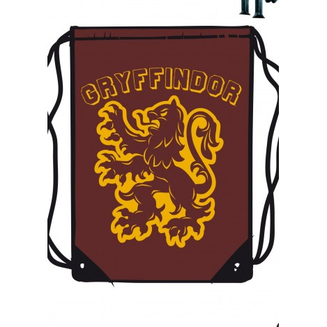 Fabric backpack garnet Gryffindor - Harry Potter