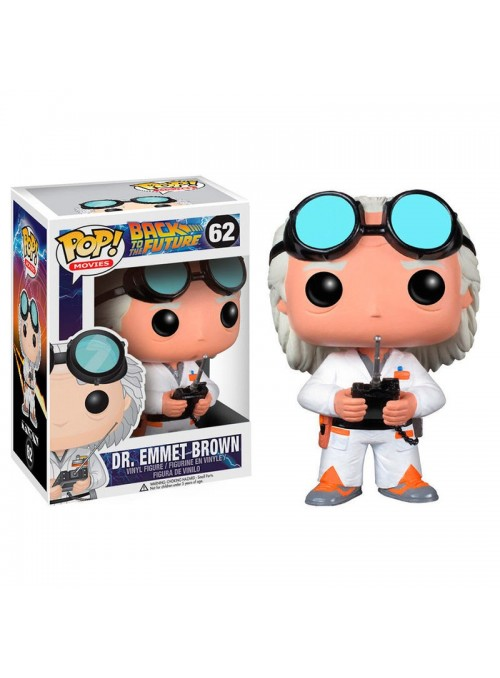Figura POP Dr Emmet Brown - Regreso al futuro