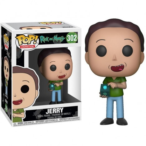 Figura Funko POP Jerry - Rick & Morty