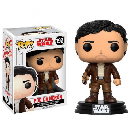 Figure Funko POP Poe Dameron - Star Wars Episode VIII The Last of the Jedi