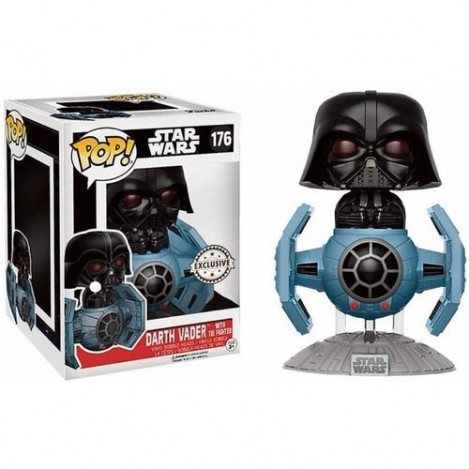 Figura Funko POP Darth Vader with Tie Fighter - Star Wars 15cm Exclusive