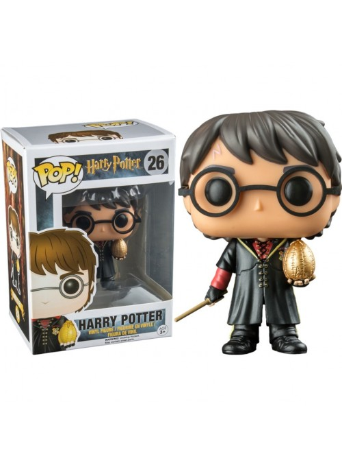 Figura POP Harry Potter & Huevo de Oro Exclusive