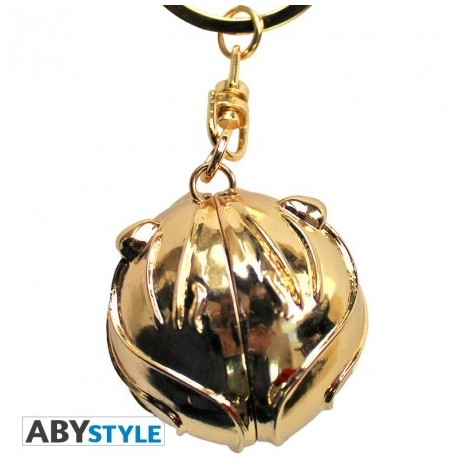 Chaveiro 3D Snitch - Harry Potter
