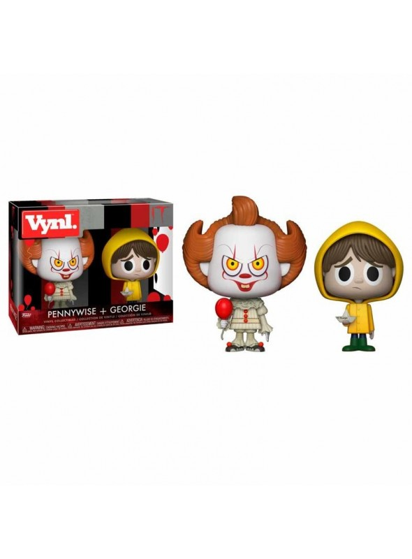 Figuras Vynl Pennywise and Georgie - IT