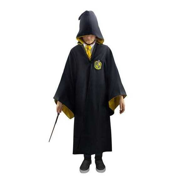 Capa Oficial Hufflepuff infantil - Harry Potter