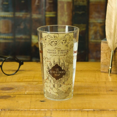 Glass Map of the Marauder - Harry Potter