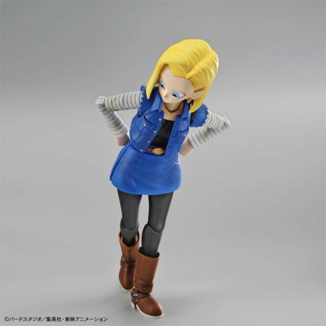 Androide C-18 Model Kit Figura 14 cm - Dragon Ball