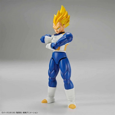 Vegeta Super Saiyan Model Kit Figura 14 cm - Dragon Ball