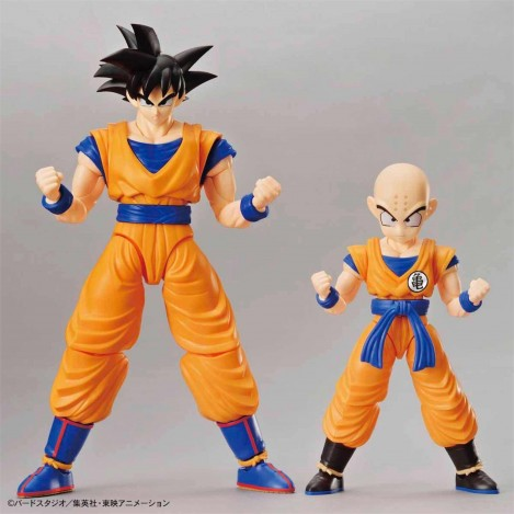 Son Goku & Krilin SET Model Kit 2 Figura 16 cm - Dragon Ball