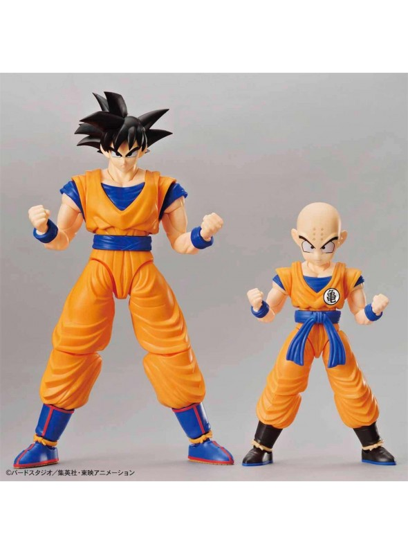 Son Goku & Krilin SET Model Kit 2 Figura 16 CM-Dragon Ball
