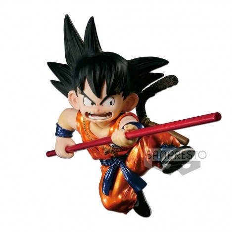 Figura Son Goku Niño Metallic version - SCultures - Dragon Ball