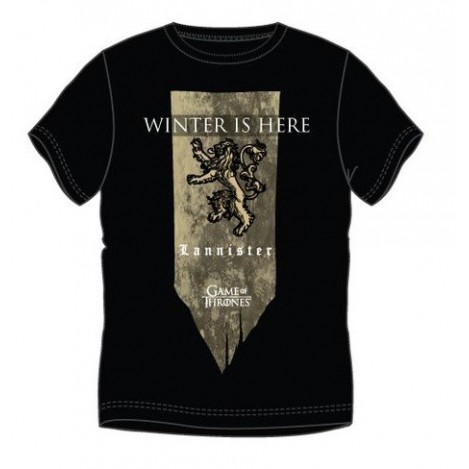 Basic t-shirt banner Lannister - Game of Thrones