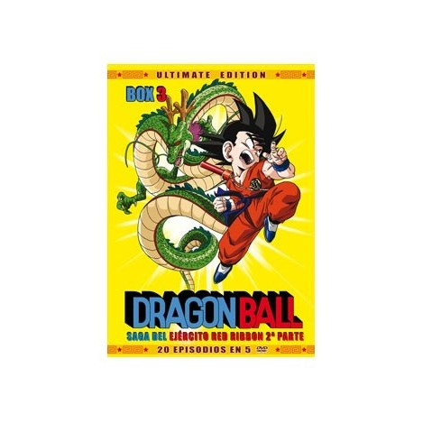 Dragon Ball Box 3 (5 DVDs) Saga Del Ejército De La Red Ribbon - Parte 1 | Ultimate Edition