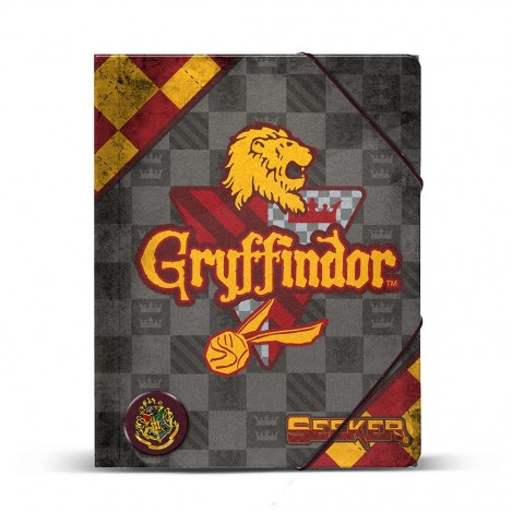Carpeta DIN A4 Quidditch Gryffindor - Harry Potter