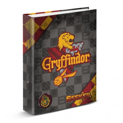 Carpeta anillas DIN A4 Quidditch Gryffindor - Harry Potter