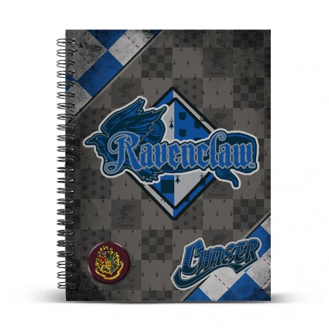 Libreta anillas A4 Quidditch Ravenclaw - Harry Potter