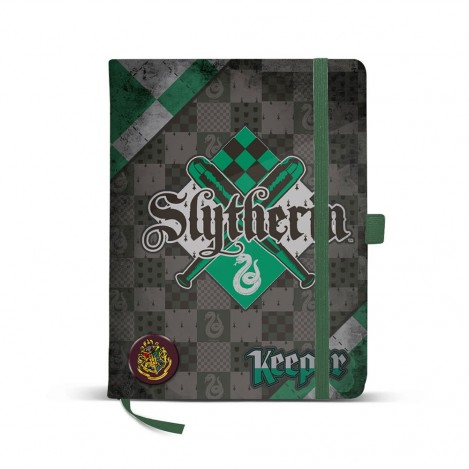 Libreta 14x21 Quidditch Slytherin - Harry Potter