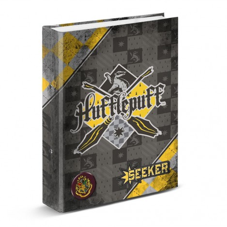 Carpeta anillas DIN A4 Hufflepuff - Harry Potter