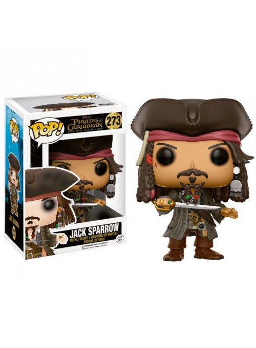 Figura POP Jack Sparrow - Pirates of the Caribbean Captain 12803