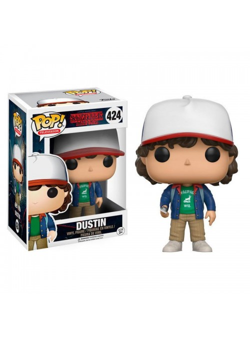 Figura POP Dustin con Brújula- Stranger Things 13323