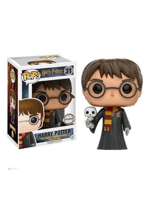 Figura POP Harry Potter & Hedwig
