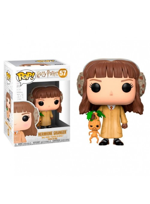 Figura Funko POP Hermione Herbología - Harry Potter