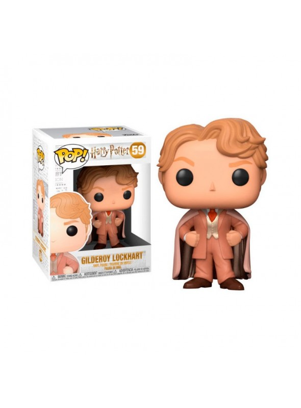 Figura POP Gilderoy Lockhart - Harry Potter