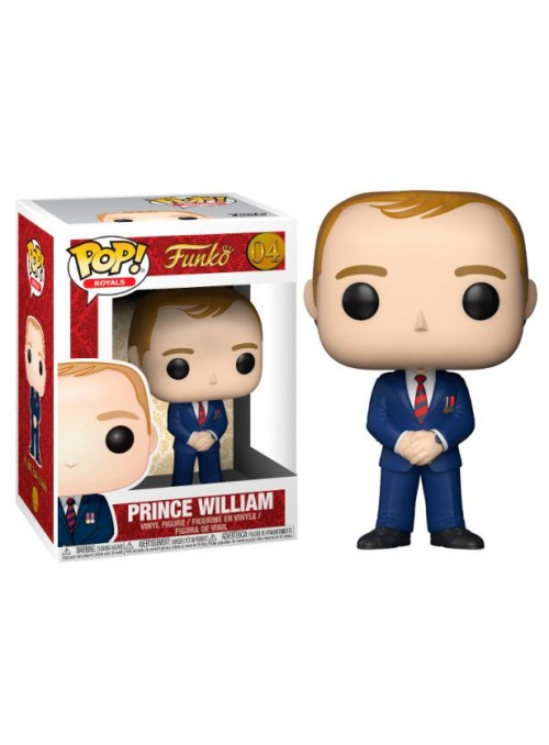 Figura POP Prince William - Royal Family