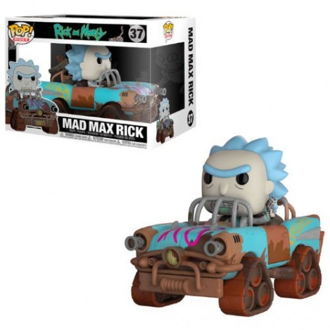 Figura Funko POP Ride Mad Max Rick - Rick & Morty