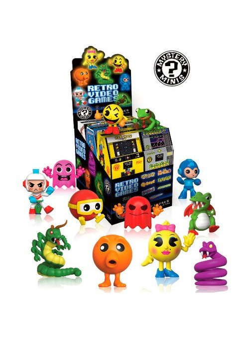 Figura Mystery Mini Retro Games surtido