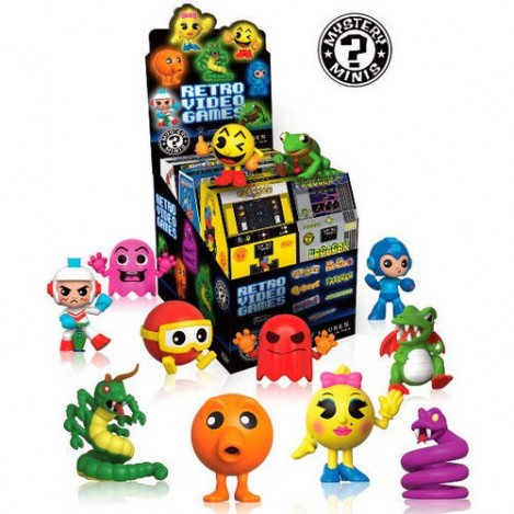 Figure Mystery Mini Retro Games assortment